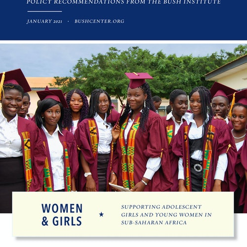 Women and Girls: Supporting Adolescent Girls and Young Women in Sub-Saharan Africa