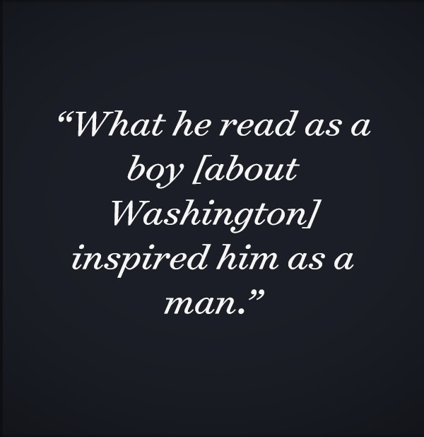 the catalyst   what lincoln learned from the founders  and what  what he read as a boy about washington inspired him as a man