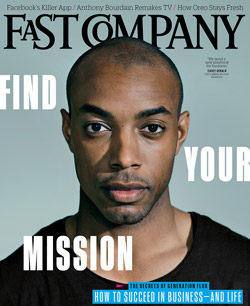 Casey Gerald on the cover of Fast Company