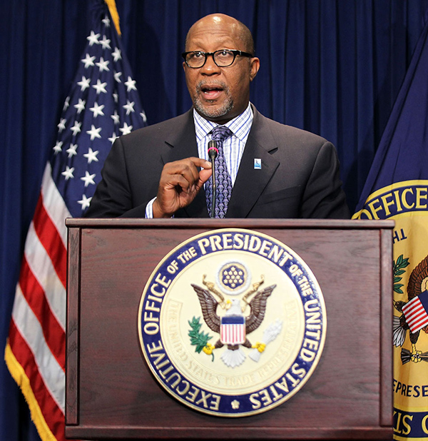 U.S. Trade Representative Ron Kirk, September 20, 2011 in Washington, DC.