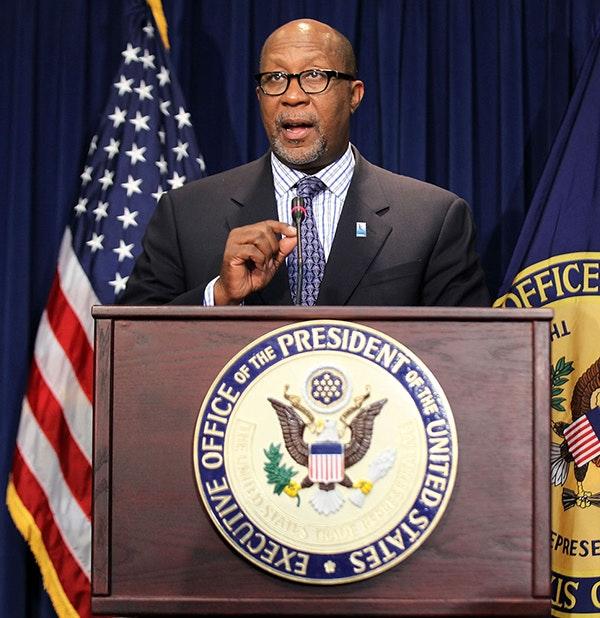U.S. Trade Representative Ron Kirk, September 20, 2011 in Washington, DC.