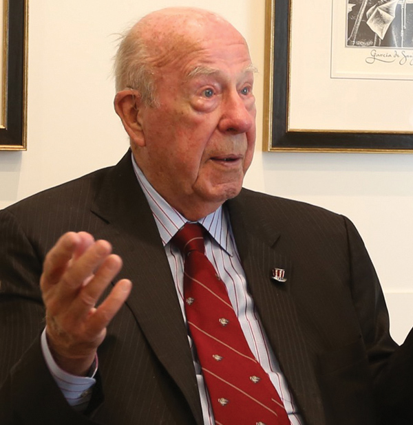George Shultz discusses North America