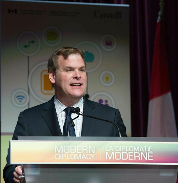 Canadian Foreign Affairs Minister John Baird Modern Diplomacy Event 2014 (Global Affairs Canada)