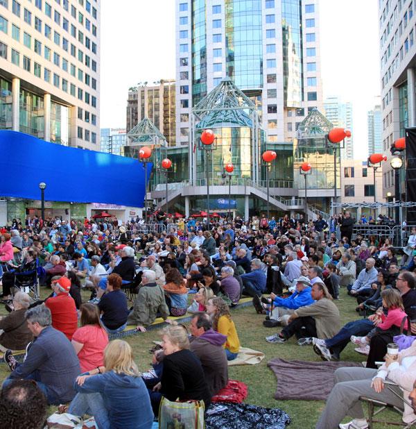 The Luminato Festival in Toronto