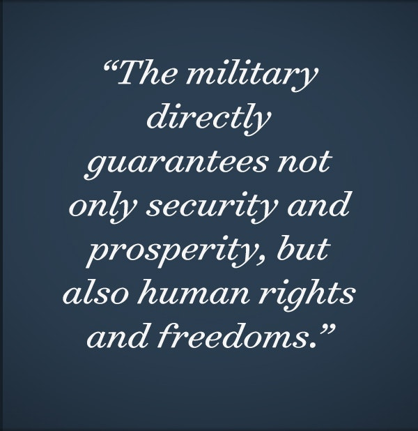 The Military's Modern Role in Securing Freedom