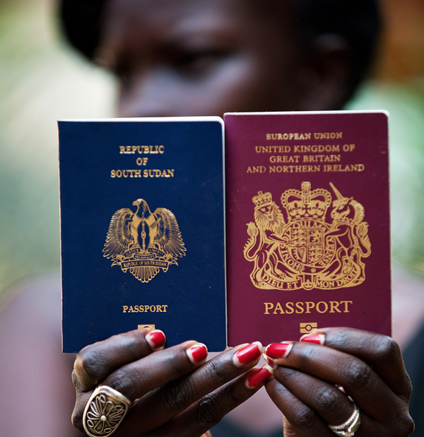 Young South Sudanese graduates who left the country during its decade of civil war are returning, trading their comfortable lives in the developed world to be part of a rebuilding process in South Sudan. (Giulio Petrocco/AFP/GettyImages)