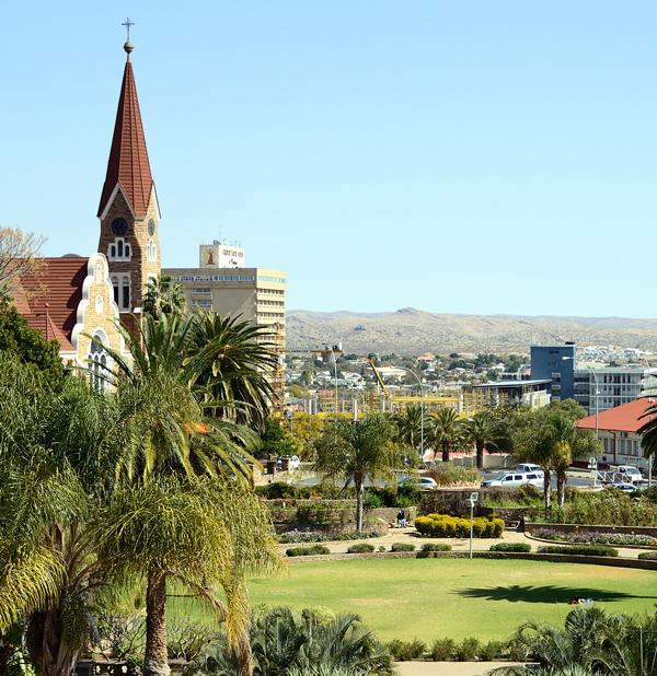 Windhoek, Namibia (Shutterstock)