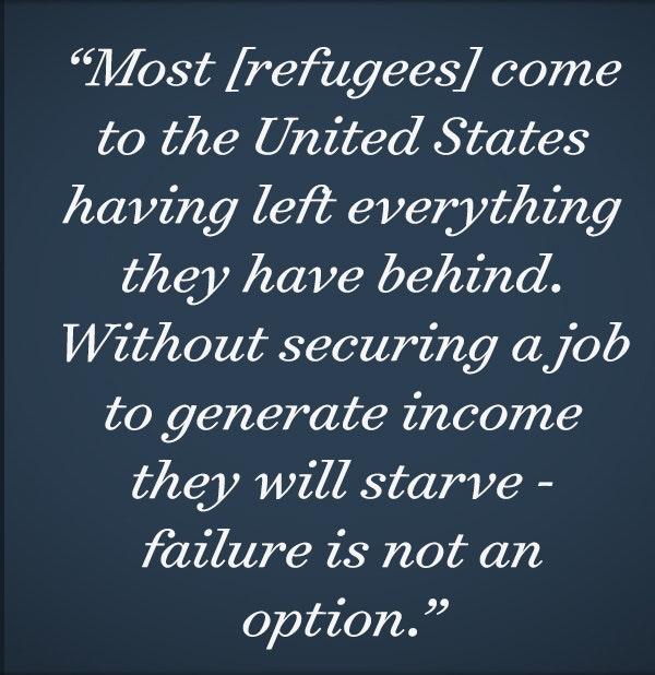 Refugees: An Economic Force   Bush Center