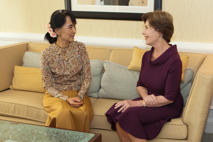 Bush: Suu Kyi's Long Journey to Freedom