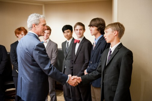 Bush Institute to Host Series of High School Economic Debate Tournaments