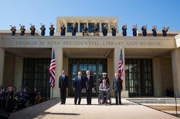 George W Bush Presidential Center Dedication Ceremony