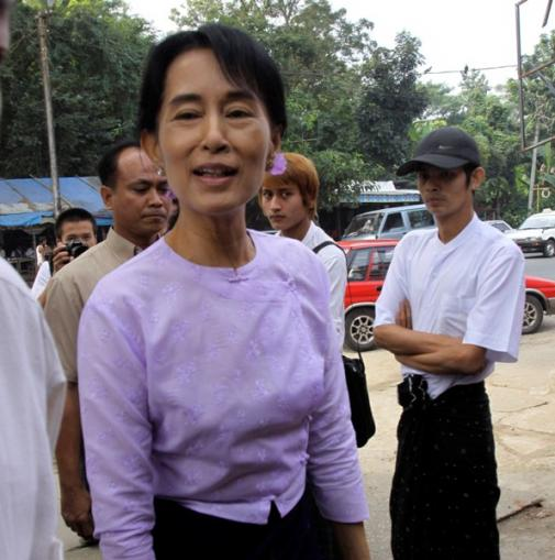 Statement by Mrs. Laura Bush Congratulating Daw Aung San Suu Kyi