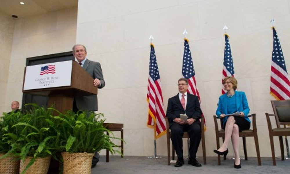 Remarks By President George W  Bush at a Naturalization Ceremony