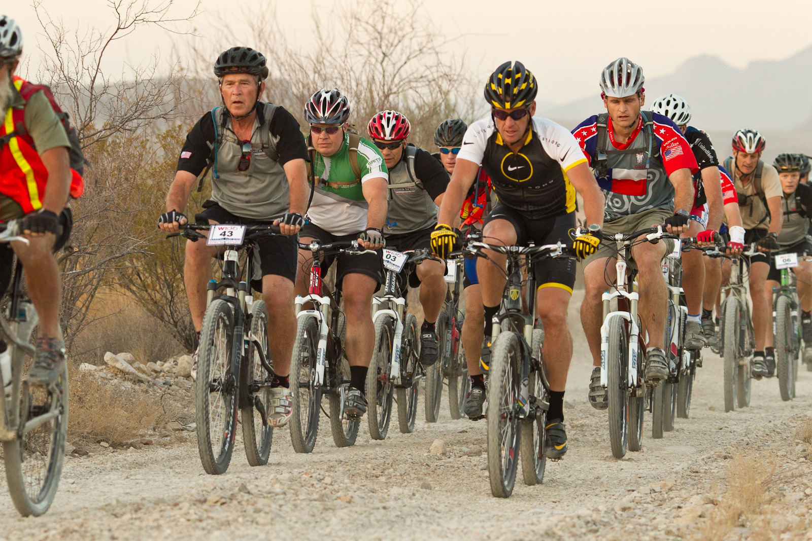 President George W. Bush to Host 2nd Annual Warrior 100k Mountain Bike Ride for Wounded Warriors