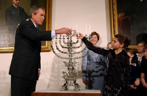 Hanukkah in the White House 2001