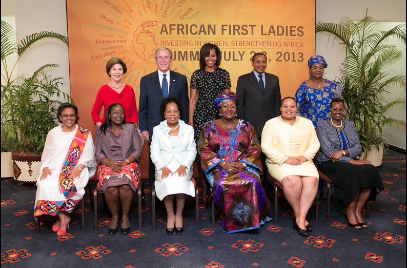 First Day of George W. Bush Institute's African First Ladies Summit Wraps Up