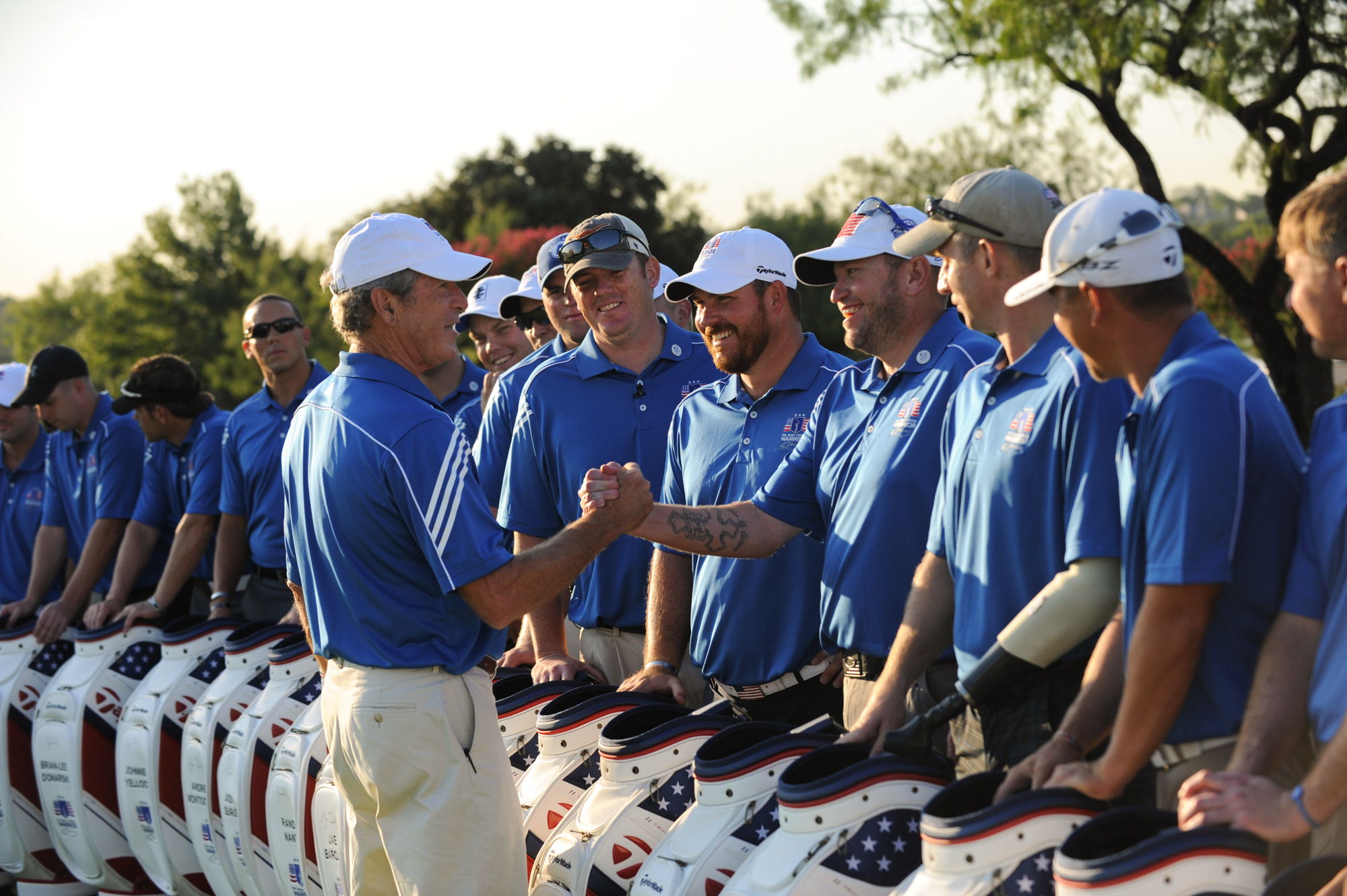 President George W. Bush to Host 4th Warrior Open Golf Tournament