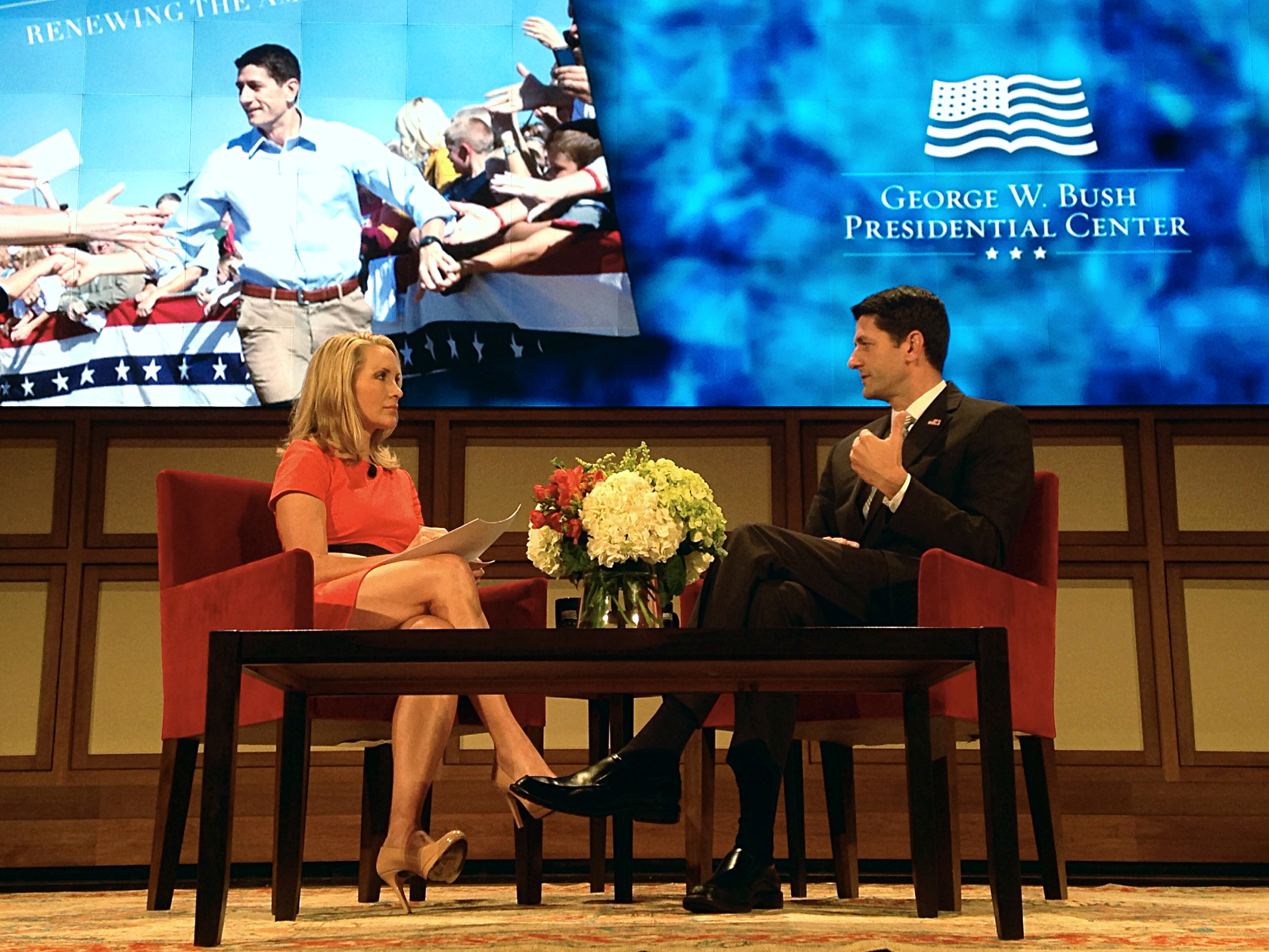 The Bush Institute Talks with Congressman Paul Ryan